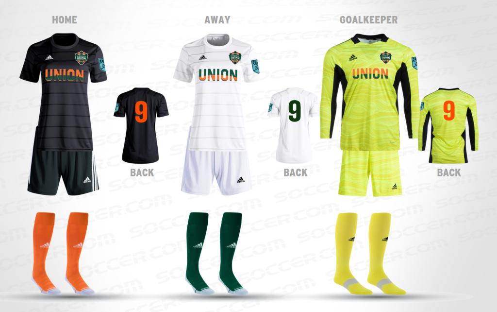 VA Union FC Uniform Kit